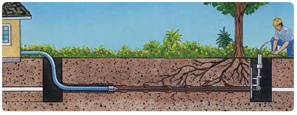 how trenchless sewer repair works | Barker and Sons Plumbing & Rooter