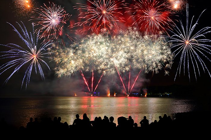 4th Of July Fireworks In Orange County Barker And Sons